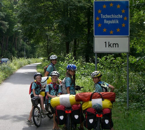 Edventure Project - biking Europe