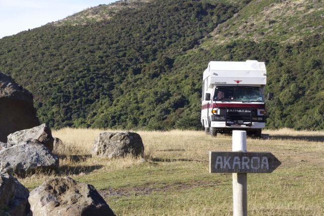 Camping Akaroa